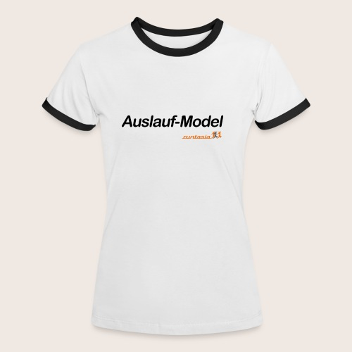 auslaufmodel - Frauen Kontrast-T-Shirt
