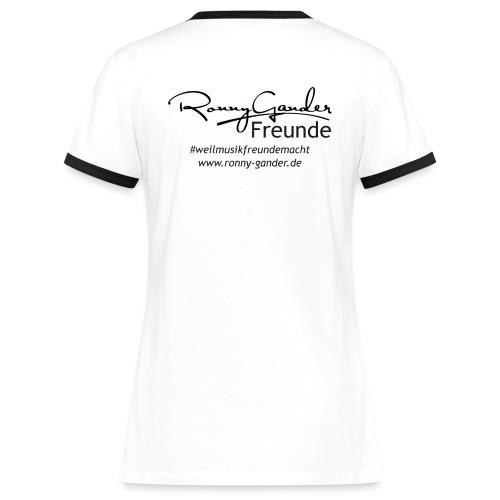 Ronny Gander Freunde - Frauen Kontrast-T-Shirt