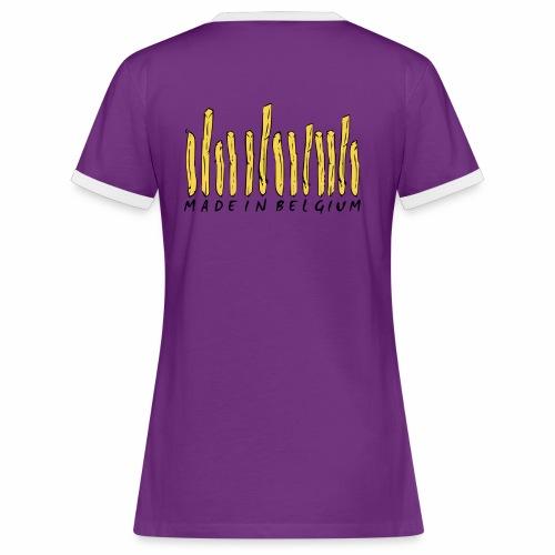 Made In Belgium Frites - T-shirt contrasté Femme