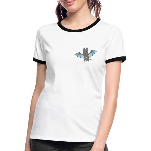 Bat Damon - Women's Ringer T-Shirt