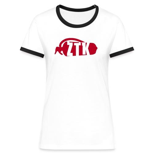 ZTK Extinguisher - Women's Ringer T-Shirt