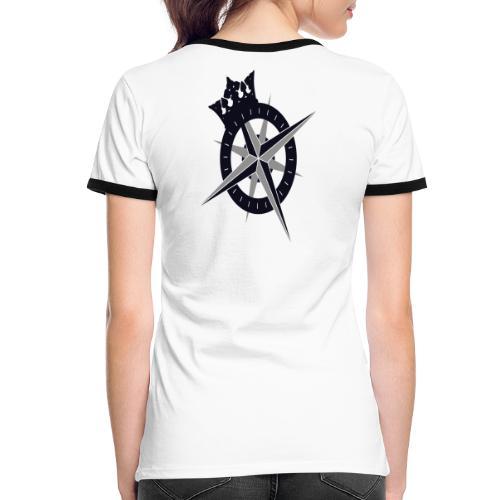 The Kings Fleet Cross - Women's Ringer T-Shirt