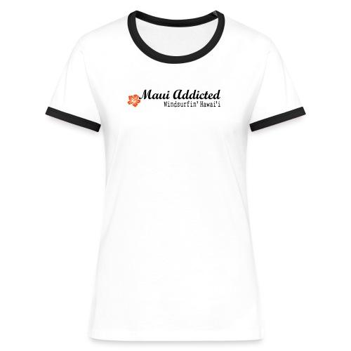 MAddLogo ai - Women's Ringer T-Shirt