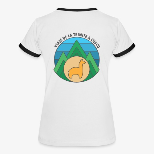 Viaje de la trinité - T-shirt contrasté Femme