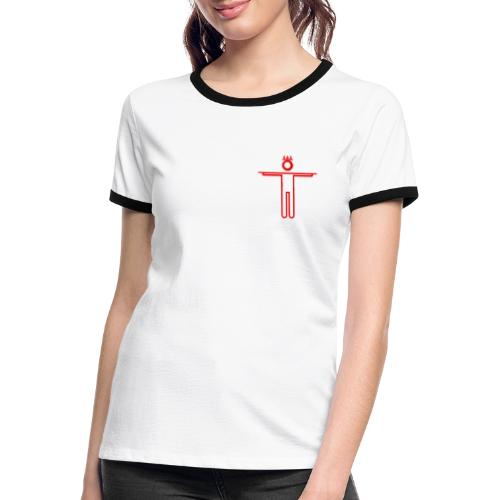 kwICT4U - Vrouwen contrastshirt