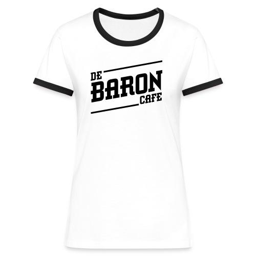 baron no back black - Vrouwen contrastshirt