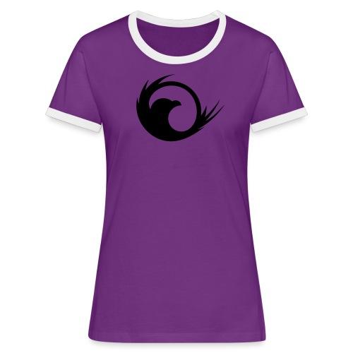 VG Eagle Black Vector - Women's Ringer T-Shirt