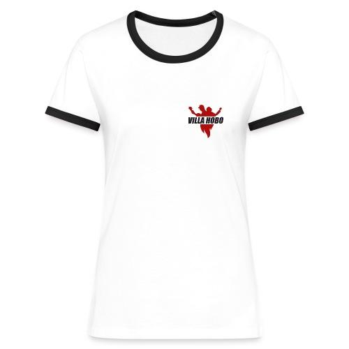 Villa Hobo logo png - T-shirt contrasté Femme