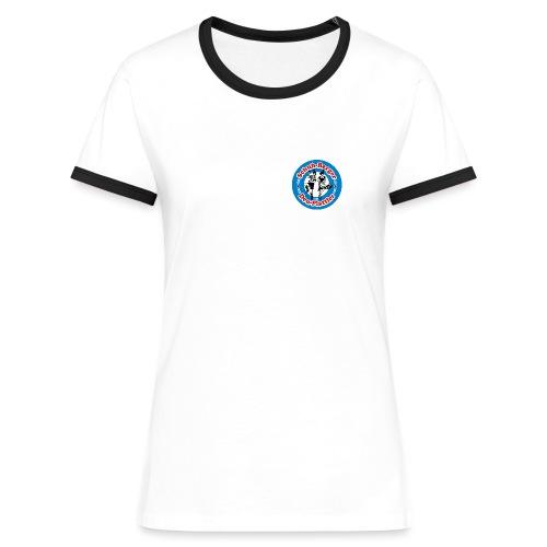 SBDP Logo neu - Frauen Kontrast-T-Shirt