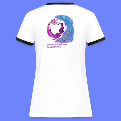 nixentraum6 - Frauen Kontrast-T-Shirt