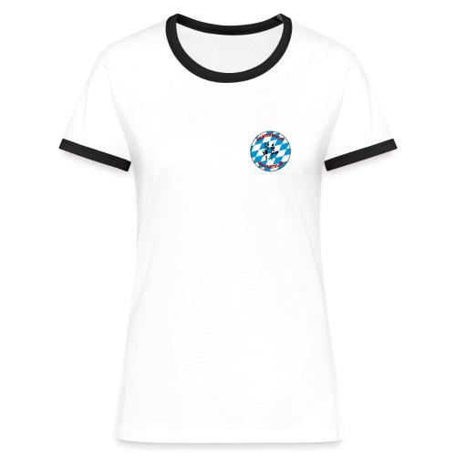 SBDP Logo - Frauen Kontrast-T-Shirt