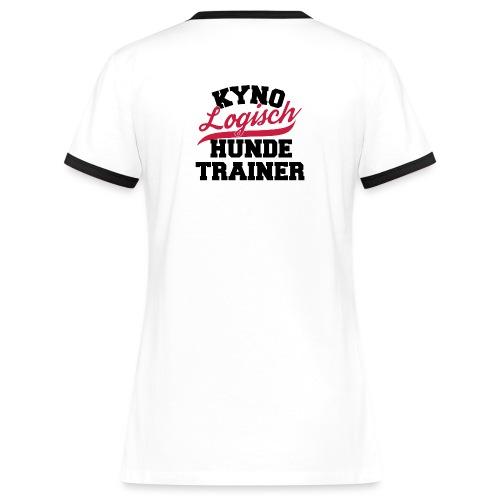 KynoLogisch College Look - Frauen Kontrast-T-Shirt