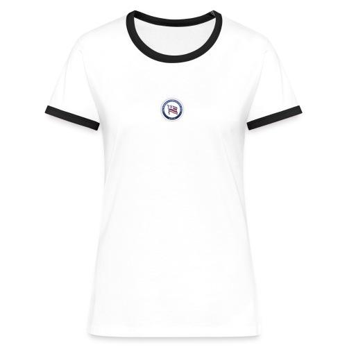 logo klein - Frauen Kontrast-T-Shirt