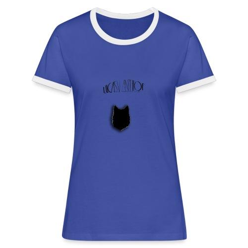 Wolf Zwart - Women's Ringer T-Shirt