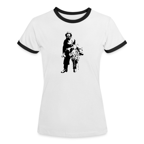 feskarn - Kontrast-T-skjorte for kvinner