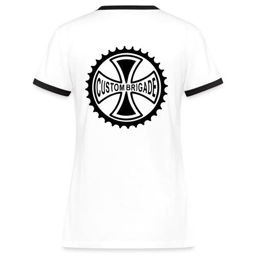 croix4 - T-shirt contrasté Femme