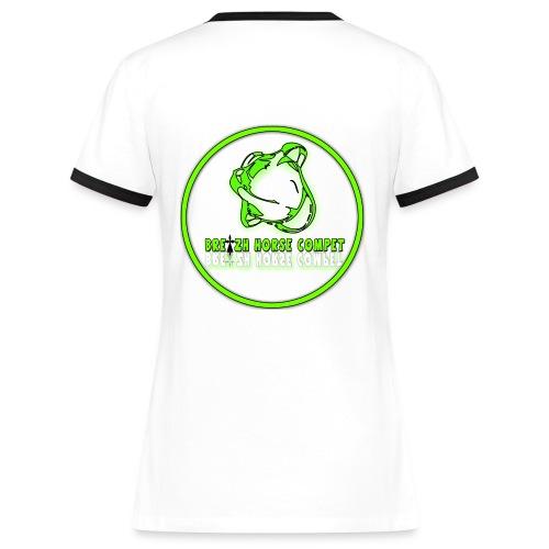 sans titre2 - T-shirt contrasté Femme