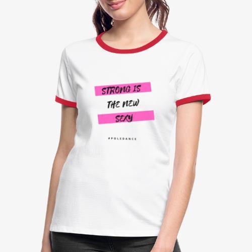 STRONG - Maglietta Contrast da donna