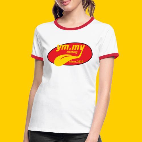 YM.MY clothing LOGO - Women's Ringer T-Shirt
