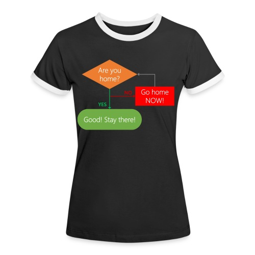 Are you home? - Women's Ringer T-Shirt