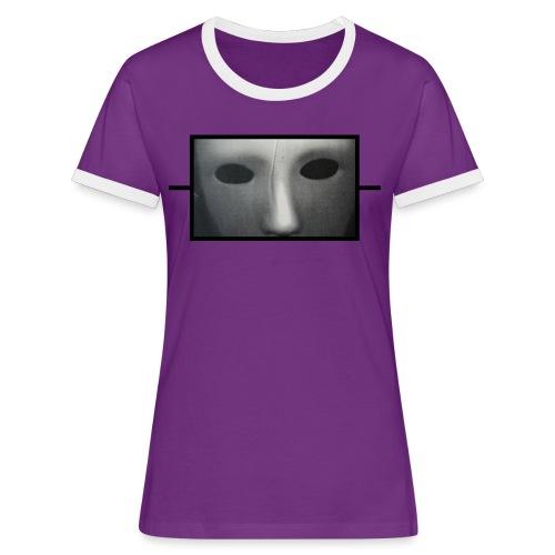 Eine Art von Widerstand 20.1 - Frauen Kontrast-T-Shirt
