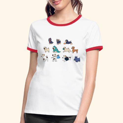 patrulla gua - Camiseta contraste mujer