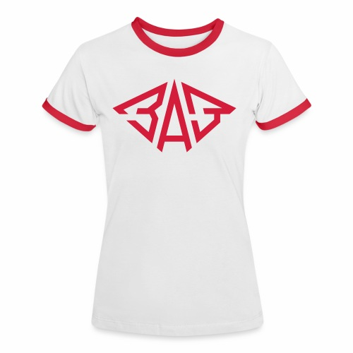 SAS ZAZ Saporoshez logo - Women's Ringer T-Shirt