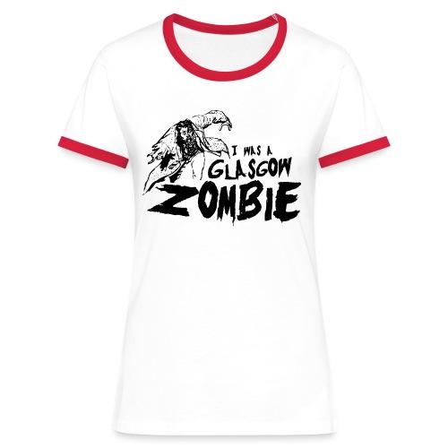 Glasgow Zombie - Women's Ringer T-Shirt