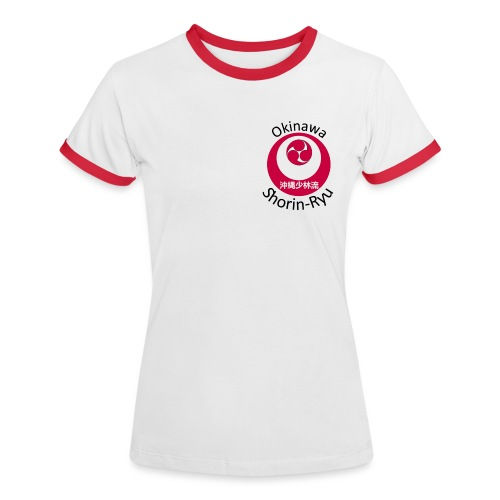 Okinawa Shorin Ryu - Dame kontrast-T-shirt