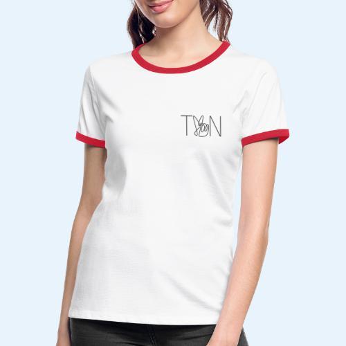 LOGOBRO - Women's Ringer T-Shirt