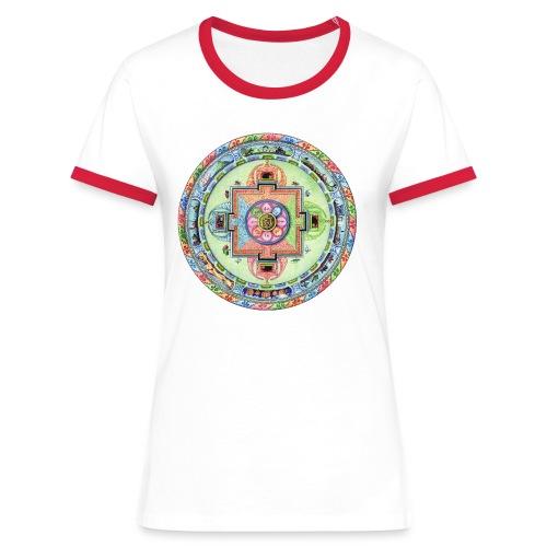 mandalamlodie2 - T-shirt contrasté Femme