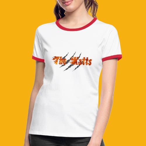 The Katts (logo 21x11) - T-shirt contrasté Femme