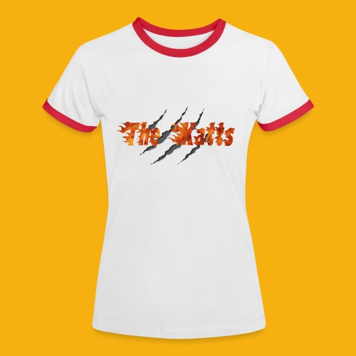 Katts transparent 21x11 - T-shirt contrasté Femme