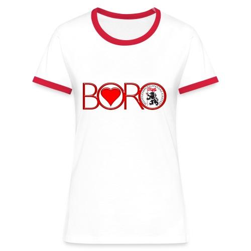 MFU Love Boro - Women's Ringer T-Shirt