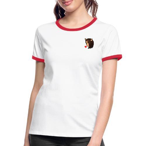 Naminoe 256 - T-shirt contrasté Femme
