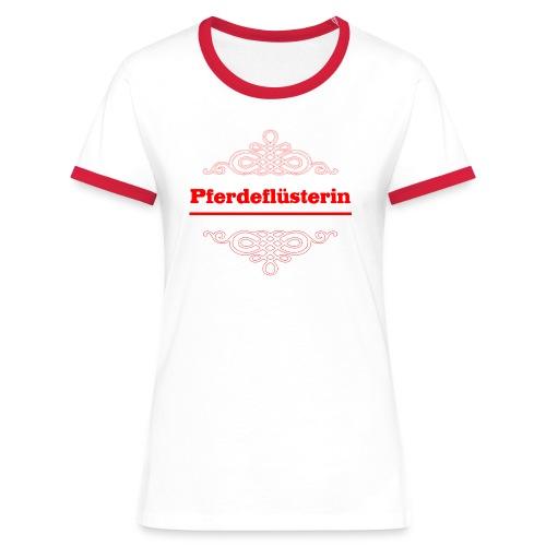 Pferdeflüsterin - Frauen Kontrast-T-Shirt