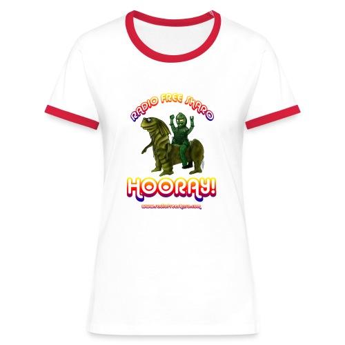 rfs hooray 2 - Women's Ringer T-Shirt
