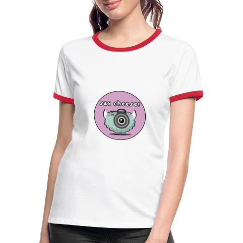 Foton The Monster Camera - Women's Ringer T-Shirt