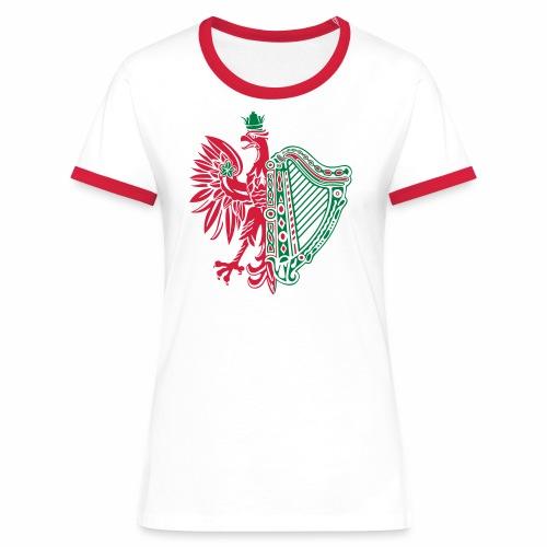 The Polish Irish - Women's Ringer T-Shirt