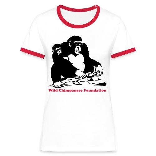 WCF Logo - Women's Ringer T-Shirt