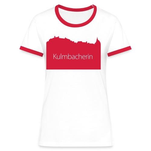skyline_ku_frau - Frauen Kontrast-T-Shirt