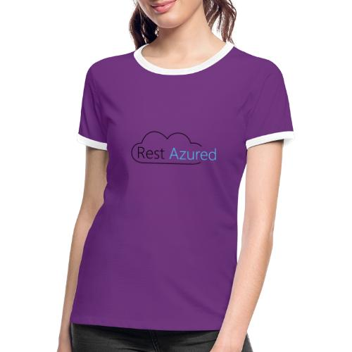 Rest Azured # 1 - Women's Ringer T-Shirt
