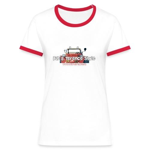 Bud Terence Style logo - Women's Ringer T-Shirt