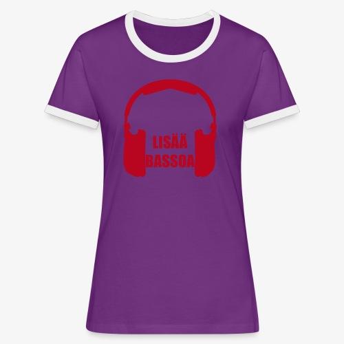 lisääbassoa - Women's Ringer T-Shirt