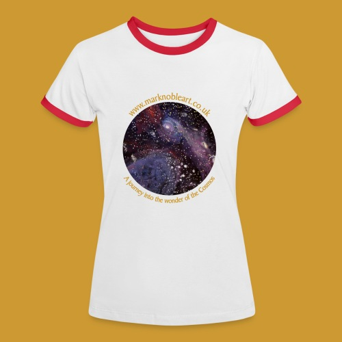 Journey into the Cosmos - Women's Ringer T-Shirt