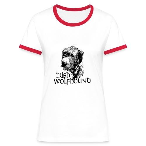 IW Guiseppe - T-shirt contrasté Femme