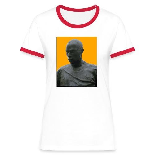 Thierry Henry Legende - Frauen Kontrast-T-Shirt