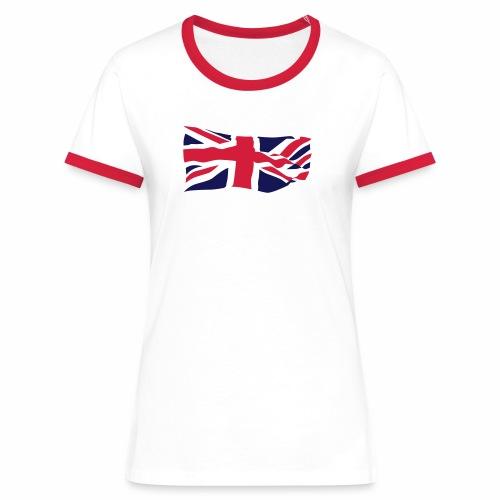 British Flag - Women's Ringer T-Shirt