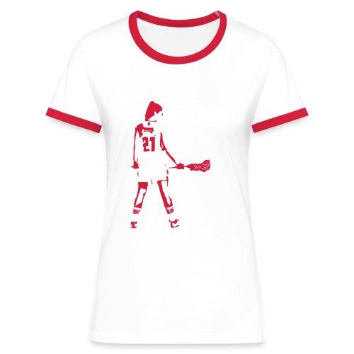 laxgirl 21 - Frauen Kontrast-T-Shirt