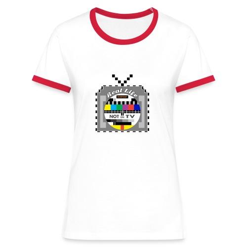 Not on TV - Women's Ringer T-Shirt